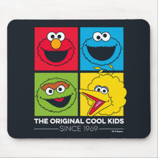 Sesame Street | The Original Cool Kids Mouse Pad
