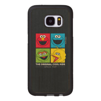 Sesame Street | The Original Cool Kids Wood Samsung Galaxy S7 Case