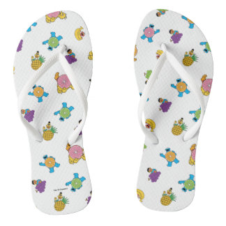 Sesame Street Tropical Pattern Thongs