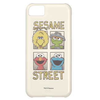 Sesame StreetVintage Character Comic iPhone 5C Case