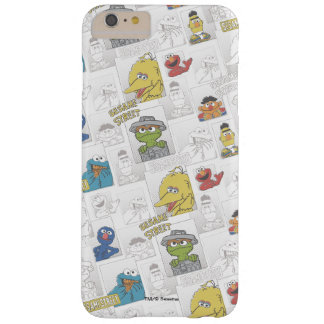 Sesame StreetVintage Comic Pattern Barely There iPhone 6 Plus Case