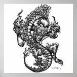 Sessions Dragon Print
