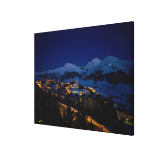 Sestriere - home of 2006 Winter Olympic ski Canvas Print
