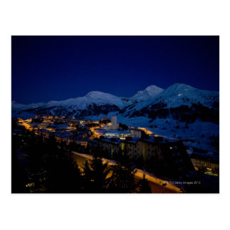 Sestriere - home of 2006 Winter Olympic ski Postcard