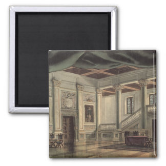Set design for Act III Square Magnet