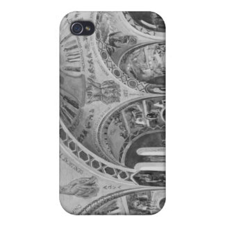Set design for the church of Chatillon. iPhone 4 Covers