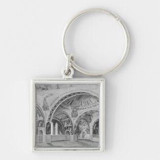 Set design for the church of Chatillon. Keychain
