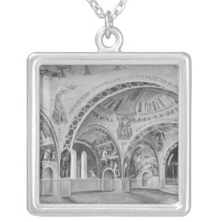 Set design for the church of Chatillon. Custom Necklace