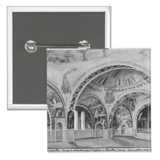 Set design for the church of Chatillon. Pin