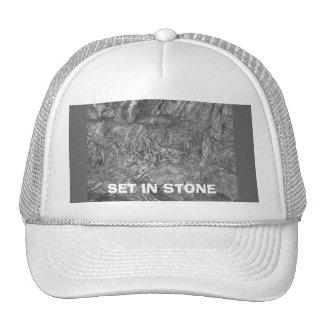 SET IN STONE CAP