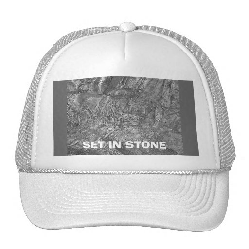 SET IN STONE HATS