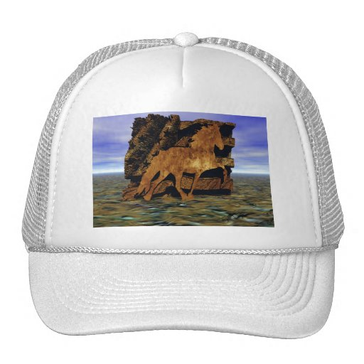 Set in Stone Mesh Hats