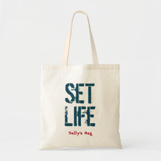 Set Life Tote Bag