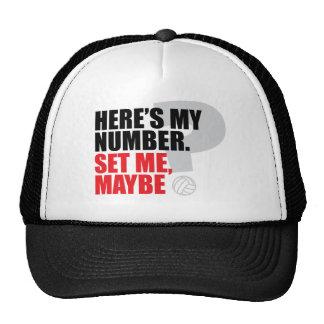 Set Me, Maybe? Trucker Hats