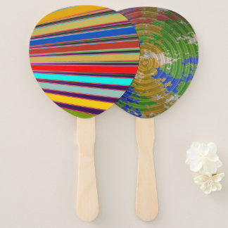 Set of 10 Blank Template ADD your IMAGE PHOTO TEXT Hand Fan