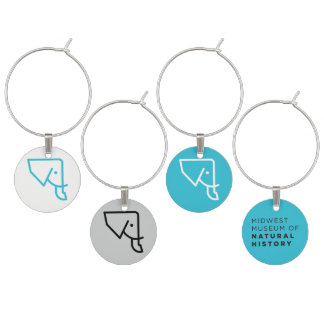 Set of 4 MMNH Bottle Charms