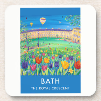 Set of 6:Vintage Style Coasters. City of Bath Coaster