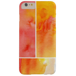 Set of abstract watercolor hand painted barely there iPhone 6 plus case