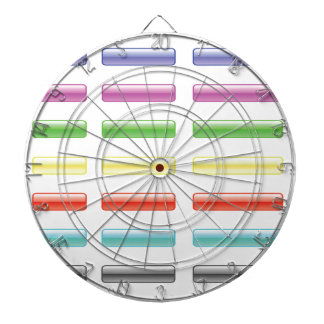 Set of Buttons Dartboard