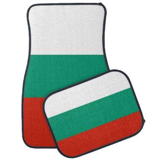 Set of car mats with Flag of Bulgaria