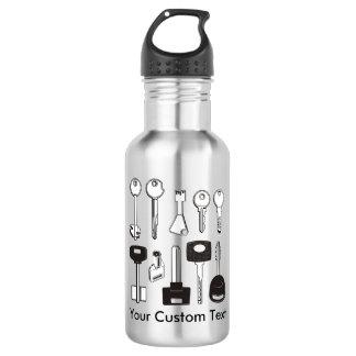Set of Keys 532 Ml Water Bottle