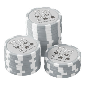 Set of Keys Poker Chip Set