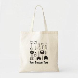 Set of Keys Tote Bag