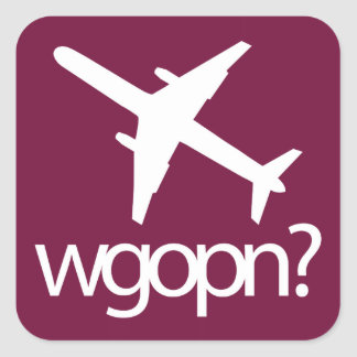 Set of wgopn stickers