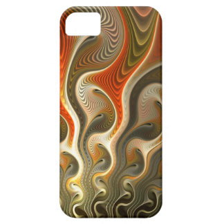 Set Phasers To Stun Abstract Orange Flames iPhone 5 Case