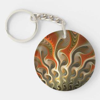 Set Phasers To Stun Round Acrylic Keychain
