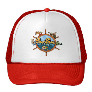 Set sail for a funny tale mesh hats