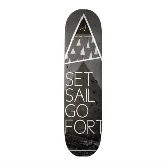 Set Sail, Go Forth Skateboard Decks