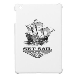 set sail on the ship iPad mini cases