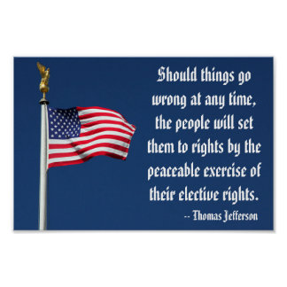 Set them right...elective rights, Jefferson Poster