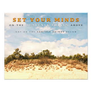 """Set Your Minds Above"" (20"" x 16"") Photo Print"