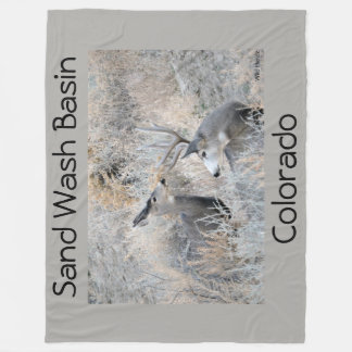 Set Your Sights on Sand Wash Basin Fleece Blanket