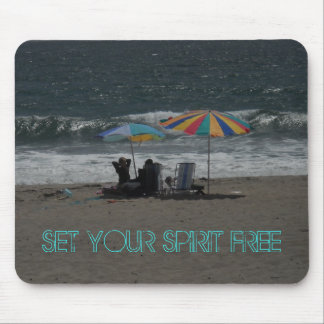 Set Your Spirit Free Mousepad