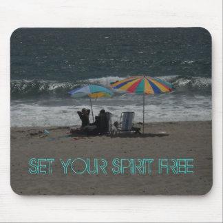 Set Your Spirit Free Mousepad