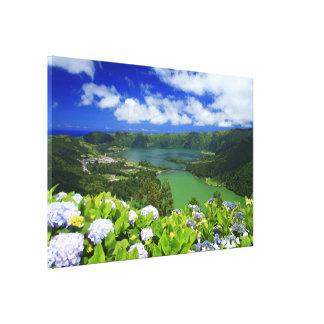 Sete Cidades, Azores Canvas Print