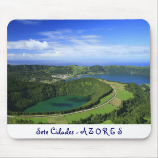 Sete Cidades, Azores Mouse Pad