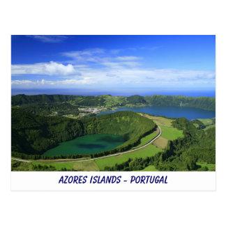 Sete Cidades, Azores Postcard