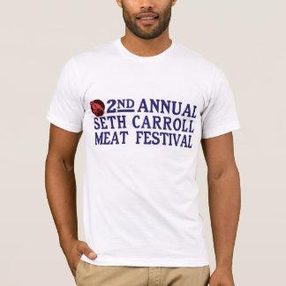 Seth Carroll Meat Festival Men's Tee