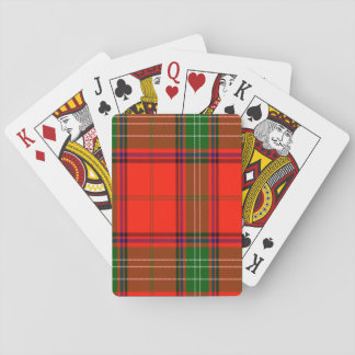 Seton Scottish Tartan Playing Cards