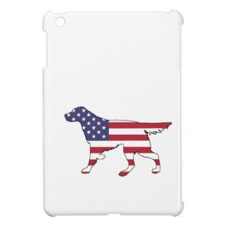 "Setter ""American Flag"" iPad Mini Cover"