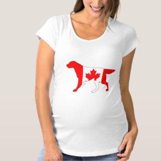 Setter Canada Maternity T-Shirt