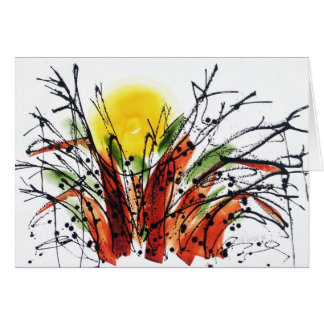 Settin' in th' Baobab Tree Notecard