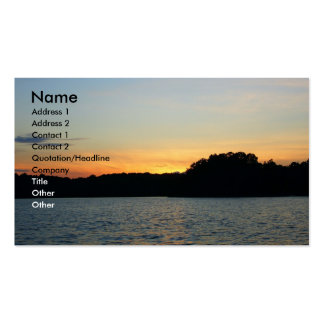 Setting Sun Business Cards