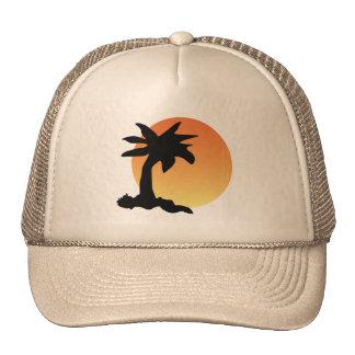 Setting Sun Mesh Hats