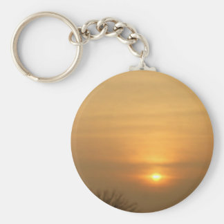 Setting Sun Keychain
