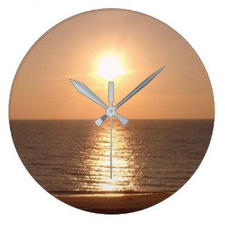 Setting Sun Wall Clocks